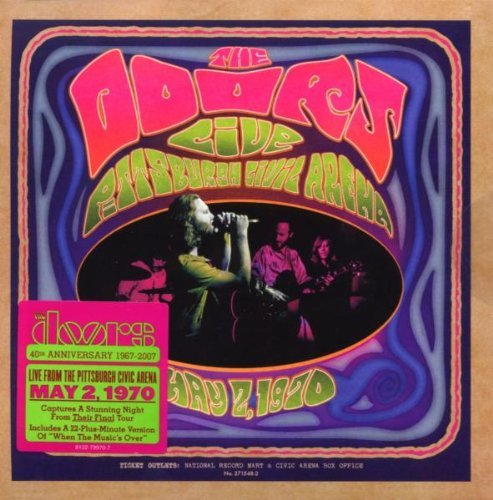 Doors Live In Pittsburgh 1970 Live In Pittsburgh 1970