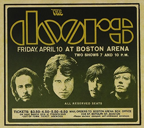 Doors Live In Boston 1970 3 CD