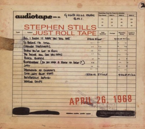 Stephen Stills Just Roll Tape April 26th 1968 Incl. Bonus Track