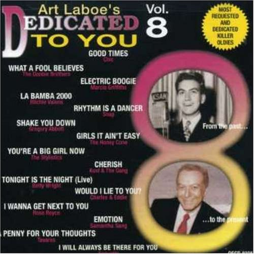 Art Laboe Presents Vol. 8 Dedicated To You Doobie Bros Valens Wright Chic Art Laboe Presents