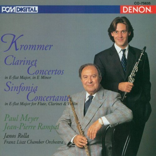 F. Krommer Con Cl (2) Sinf Concertante Meyer Rampal Rolla Rampal Franz Liszt Co