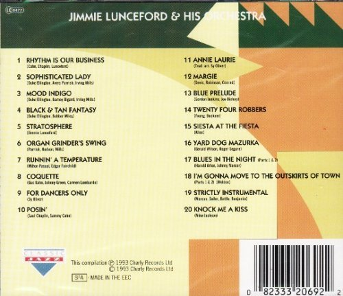 Jimmie Lunceford Jazz For Ever