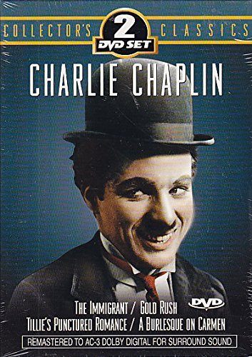 Charlie Chaplin Immigrant Gold Rush Tillie's Punctured Rom