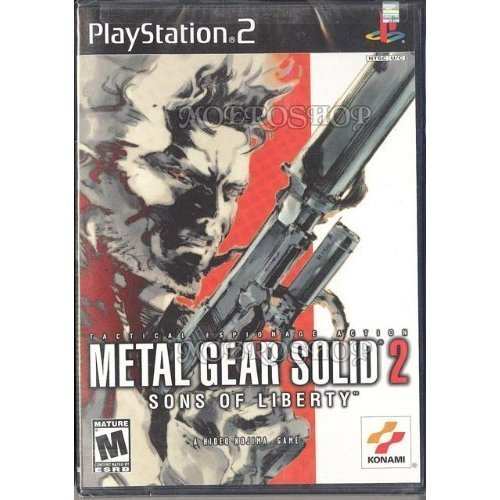 Ps2 Metal Gear Solid Sons Of Liber Rp