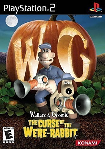 Ps2 Wallace & Grommit Curse Of The Were Rabbit