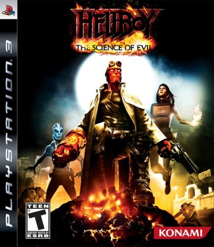 Ps3 Hellboy Science Of Evil