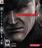 Ps3 Metal Gear Solid 4 Guns Of Th Konami Of America M