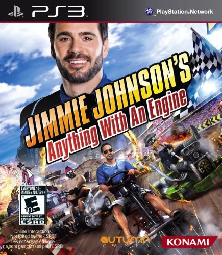 Ps3 Jimmie Johnson Anything With A Konami Of America E10+