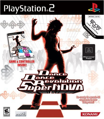 Ps2 Dance Dance Revolution Super Nova Bundle