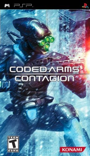 Psp Coded Arms Contagion Konami