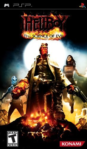 Psp Hellboy Science Of Evil Konami