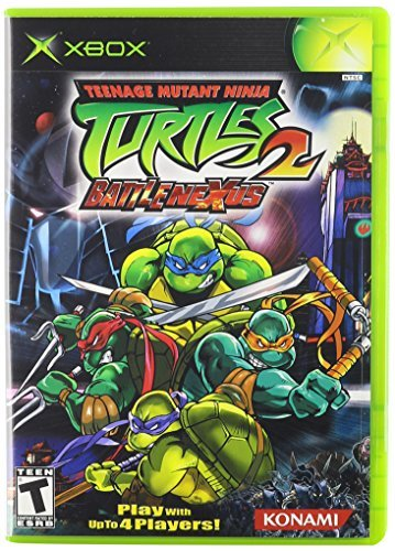 Xbox Tmnt 2 Teenage Mutant Ninja Turtles