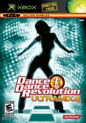 Xbox Dance Dance Revolution Ultramix 4
