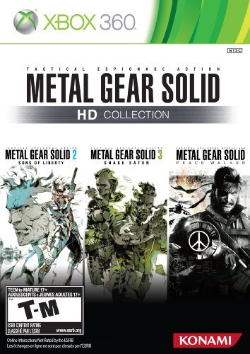 X360 Metal Gear Solid Hd Collection M