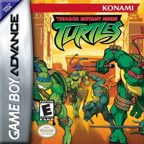 Gba Tmnt Teenage Mutant Ninja Turt