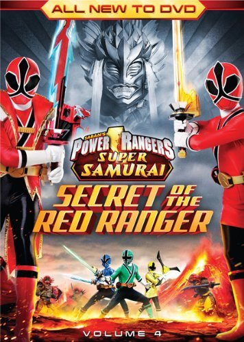 Vol. 4 Secret Of The Red Range Power Rangers Super Samurai Ws Nr