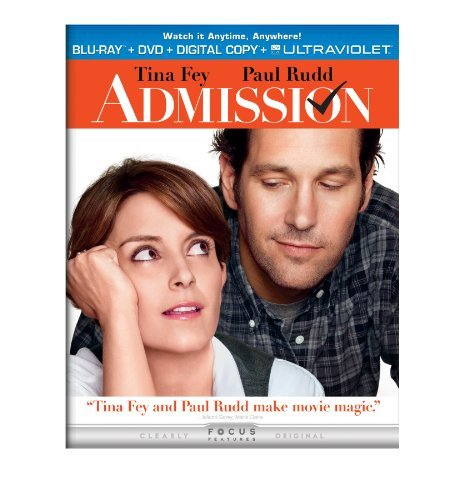 Admission Fey Rudd Pg13 DVD Dc Uv
