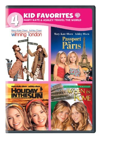 Mary Kate & Ashley Travel The World 4 Kid Favoirites Nr