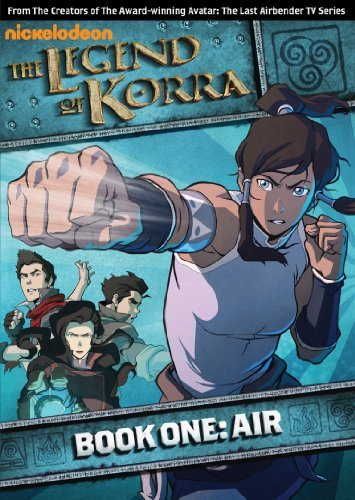 Legend Of Korra Book One Air DVD Nr