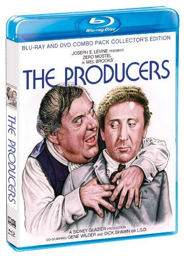Producers Collector's Editio Mostel Wilder Blu Ray Ws Nr 2 DVD