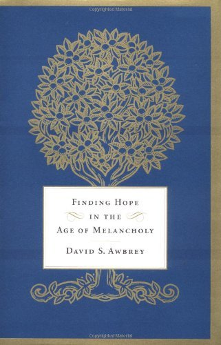 David S. Awbrey Finding Hope In The Age Of Melancholy