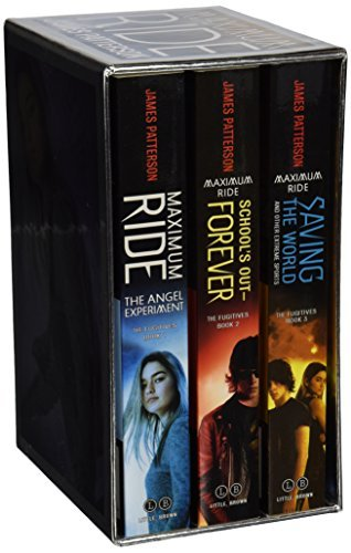 James Patterson Maximum Ride Boxed Set The Fugitives The Angel Experiment School's Out
