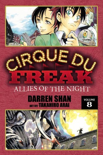 Darren Shan Cirque Du Freak Manga Vol. 8