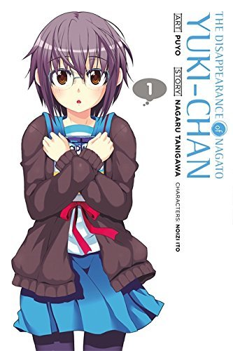 Nagaru Tanigawa The Disappearance Of Nagato Yuki Chan Volume 1