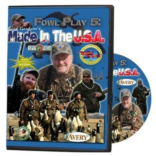 Buck Gardner Calls Fowl Play 5 & 6 Dvds (vol. 5)
