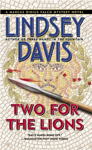 Lindsey Davis Two For The Lions (marcus Didius Falco Mysteries)