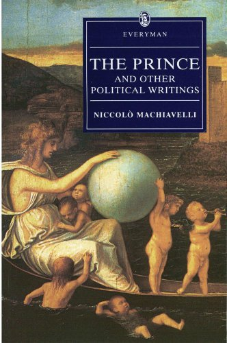 Niccolo Machiavelli The Prince And Other Political Writings Original