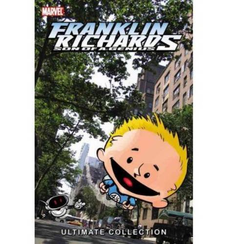 Chris Eliopoulis Franklin Richards Son Of A Genius Ultimate Collect