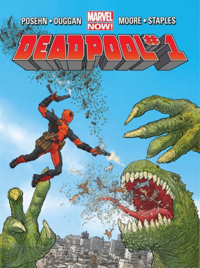 Gerry Duggan Deadpool Vol. 1 Dead Presidents