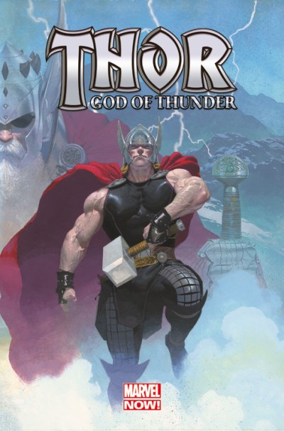 Jason Aaron Thor God Of Thunder Volume 1 The God Butcher