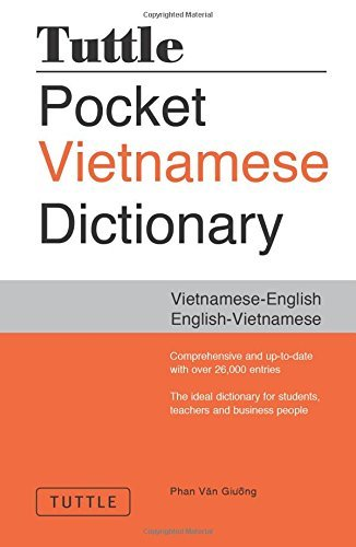 Phan Van Giuong Tuttle Pocket Vietnamese Dictionary Vietnamese English English Vietnamese