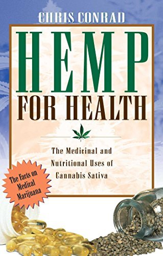 Chris Conrad Hemp For Health The Medicinal And Nutritional Uses Of Cannabis Sa Original