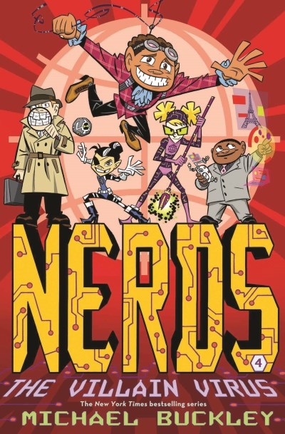 Michael Buckley Nerds Book Four The Villain Virus