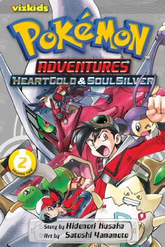 Hidenori Kusaka Pokemon Adventures Heart Gold Soul Silver Vol. 2 Original