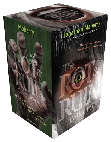 Jonathan Maberry The Rot & Ruin Collection Rot & Ruin; Dust & Decay; Flesh & Bone; Fire & As Boxed Set