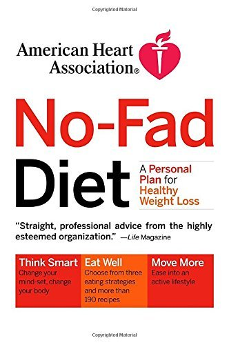 American Heart Association American Heart Association No Fad Diet A Personal Plan For Healthy Weight Loss