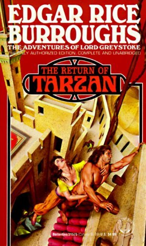 Edgar Rice Burroughs Return Of Tarzan