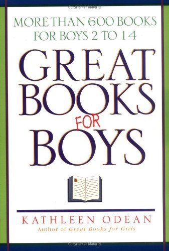 Kathleen Odean Great Books For Boys