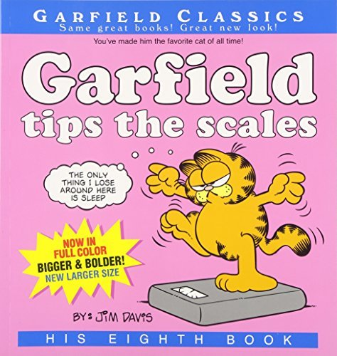 Jim Davis Garfield Tips The Scales