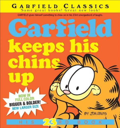 Jim Davis Garfield Keeps His Chins Up