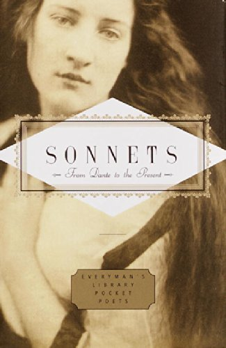 John Hollander Sonnets From Dante To The Present