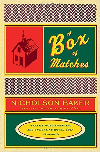 Nicholson Baker A Box Of Matches