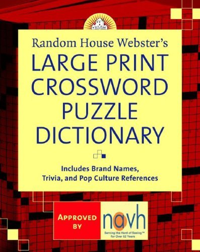 Stephen Elliott Random House Webster's Large Print Crossword Puzzl