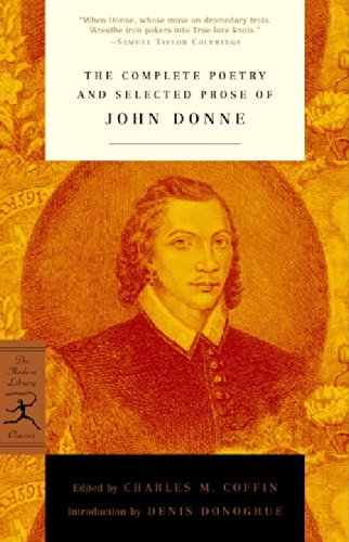 John Donne The Complete Poetry And Selected Prose Of John Don