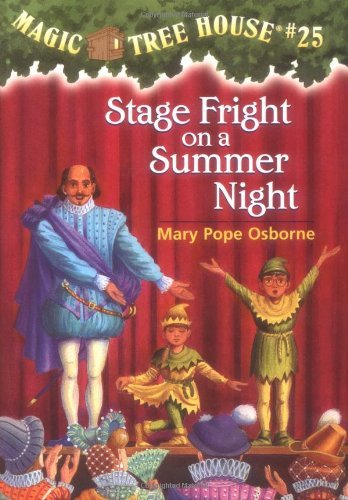 Mary Pope Osborne Stage Fright On A Summer Night