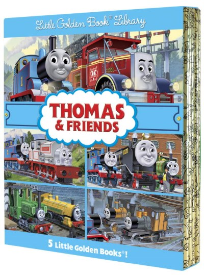 W. Awdry Thomas & Friends Little Golden Book Library